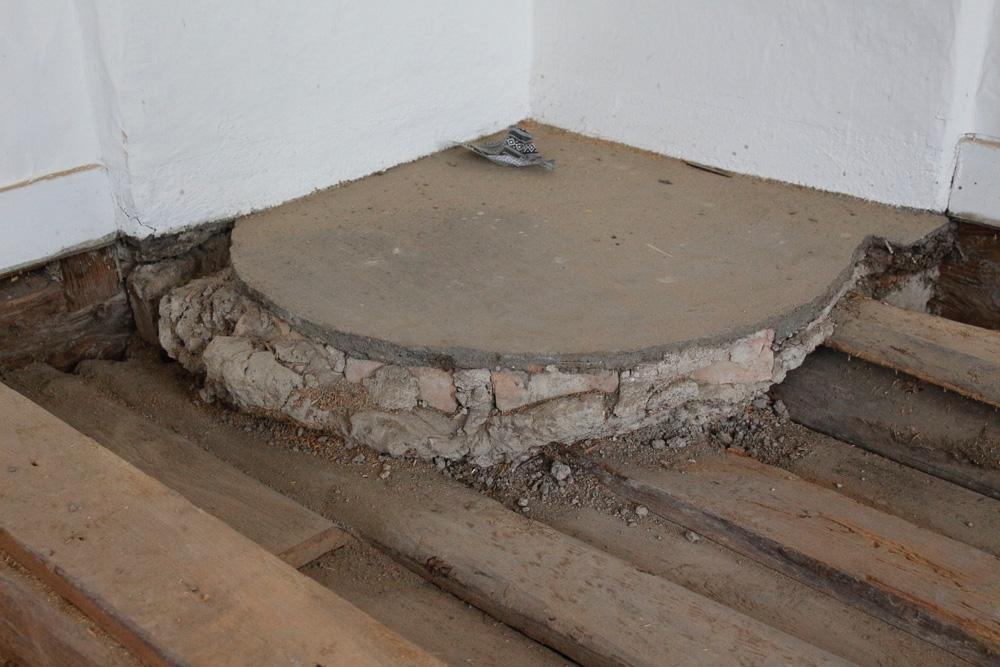 Isolera golvet på gammalt vis u2013 BLOGG